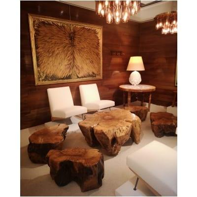 Ensemble de tables basses en racine d'acacia