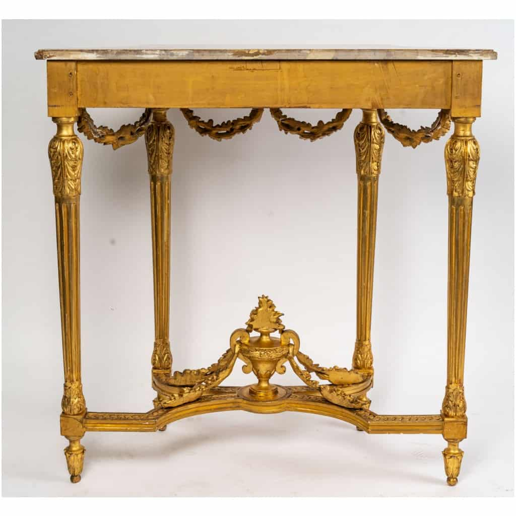 Console Louis XVI. XIXe siècle 11