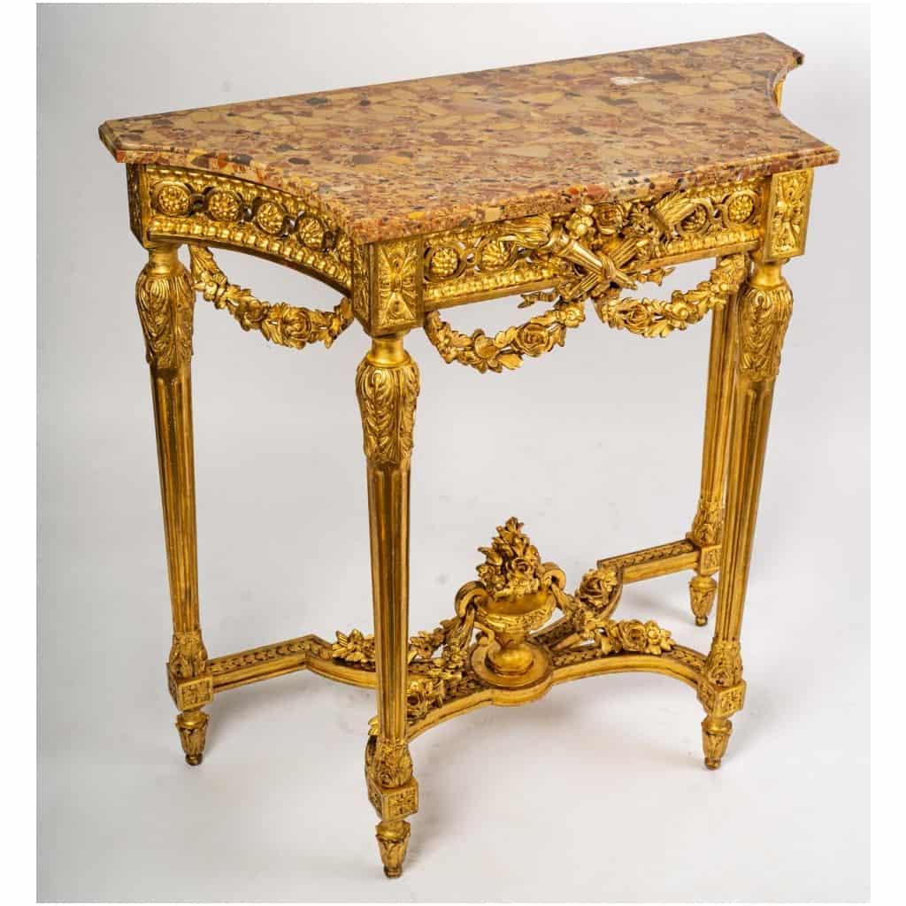 Console Louis XVI. XIXe siècle 3