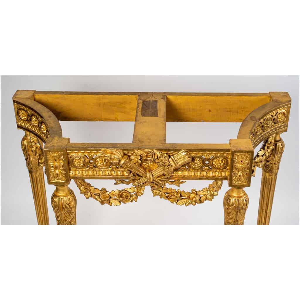 Console Louis XVI. XIXe siècle 10