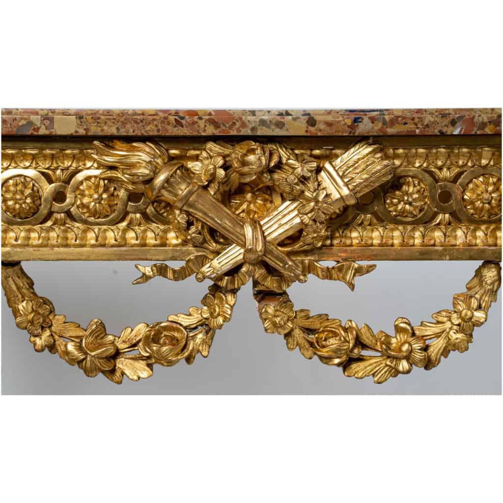 Console Louis XVI. XIXe siècle 4