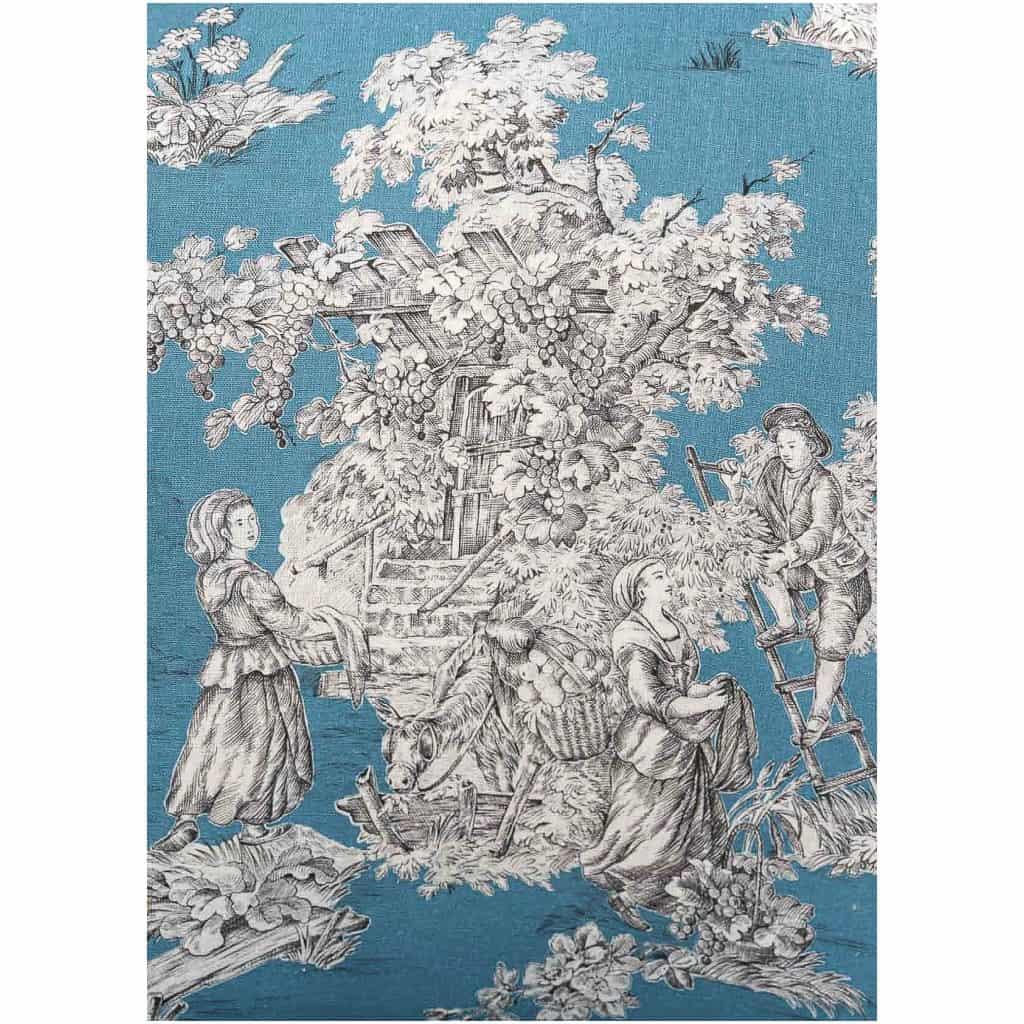 Paire de fauteuils en hêtre laqué mouluré et sculpté époque Louis XVI vers 1780 7