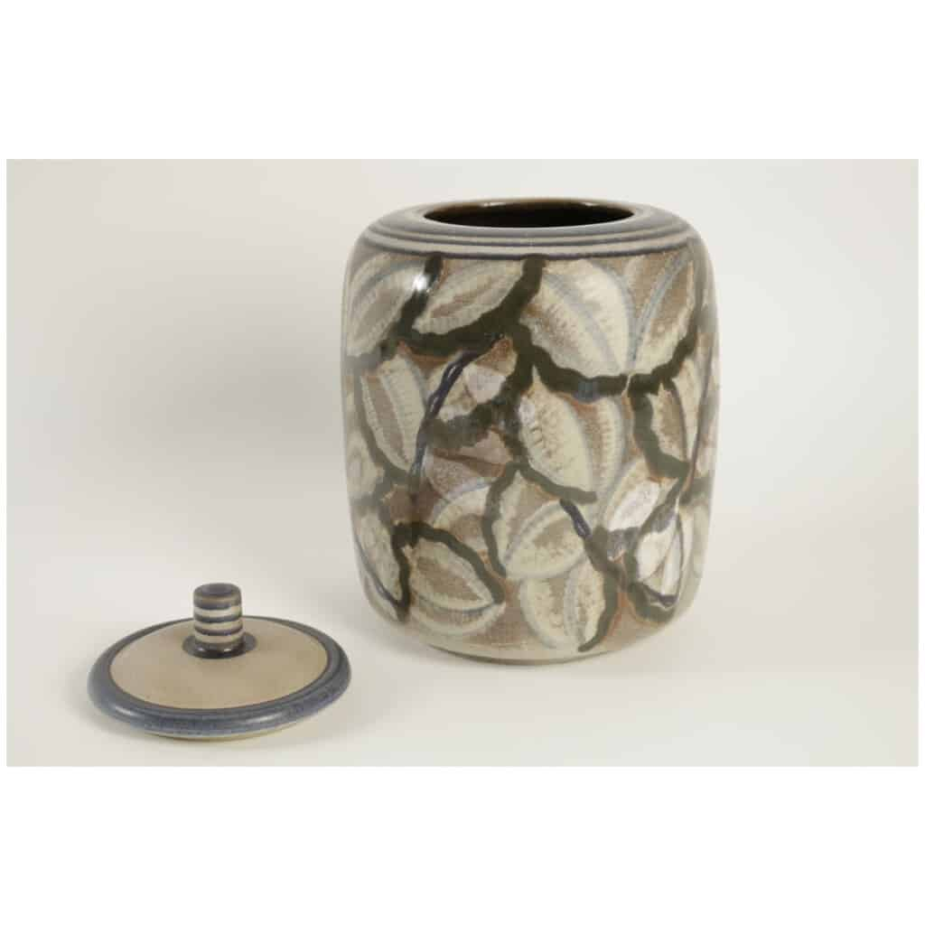 Boite en céramique de Sèvres art déco 5