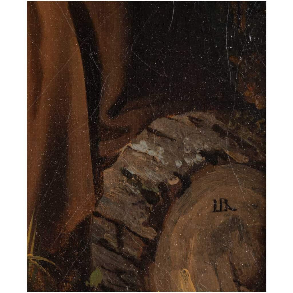 Léopold Robert 1794-1835. Paire De Tableaux. Au Puits Et Le Repos. 10