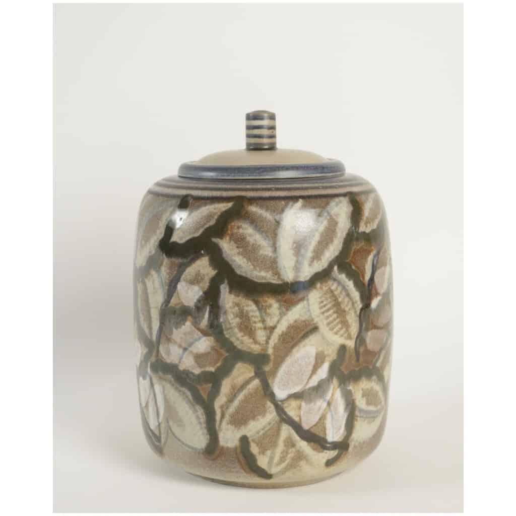 Boite en céramique de Sèvres art déco 3