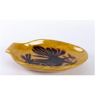 coupe en céramique par Jean Lurçat (1892-1966)