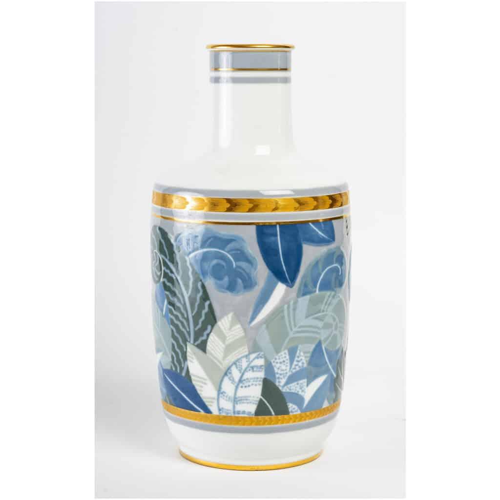 Vase en porcelaine de Sèvres, art déco 7