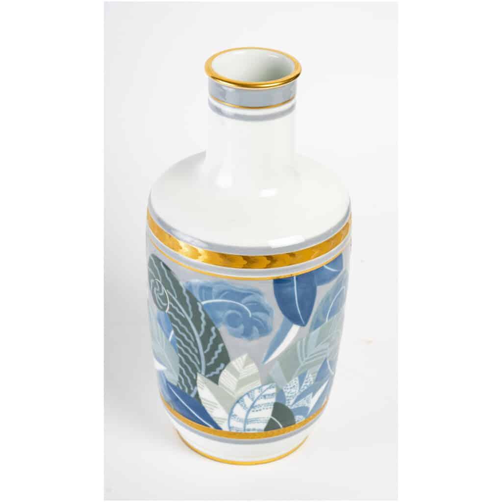 Vase en porcelaine de Sèvres, art déco 5