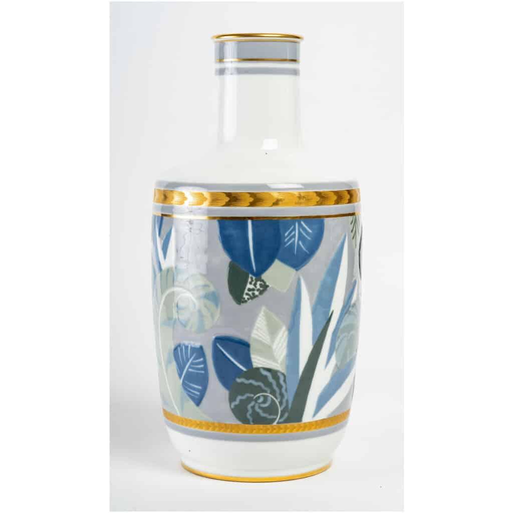 Vase en porcelaine de Sèvres, art déco 4