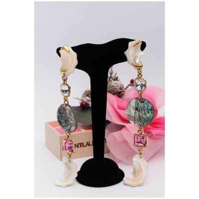 Boucles d'oreilles Yves Saint Laurent Haute Couture