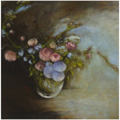 Bee Oil on canvas 100x100cm