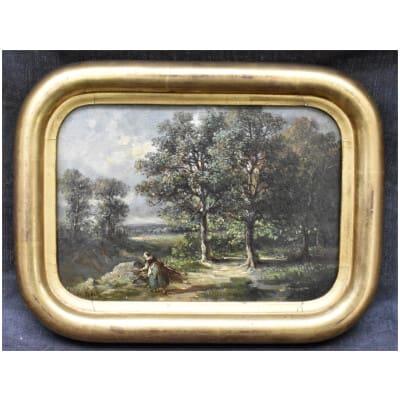 Peinture XIXème Louis De Kock
