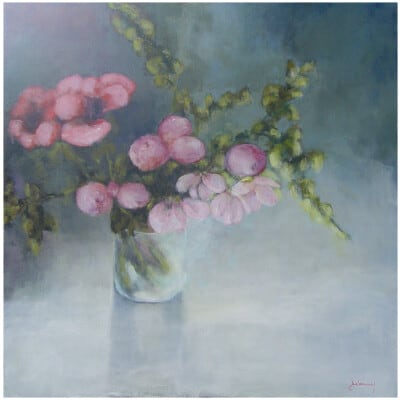 The Orchid Oil on canvas 100x100 cm