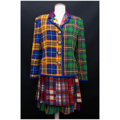 Tailleur en laine Gianni Versace Couture