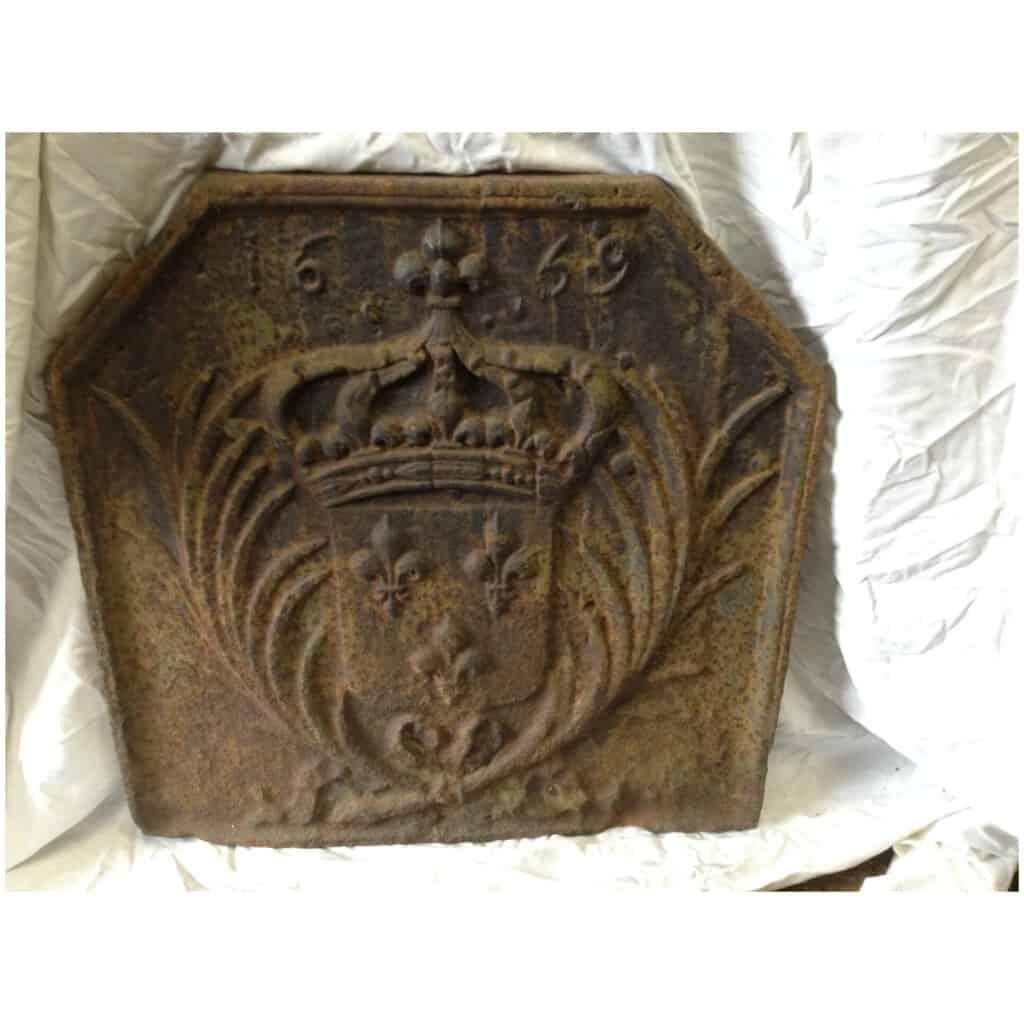 Plaque cheminée 1659