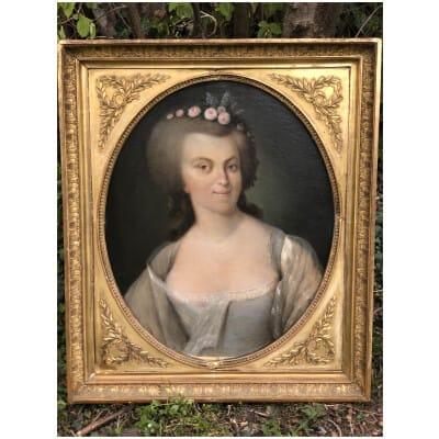 Armand-jean Pallière (1784-1862) – Portrait De Femme