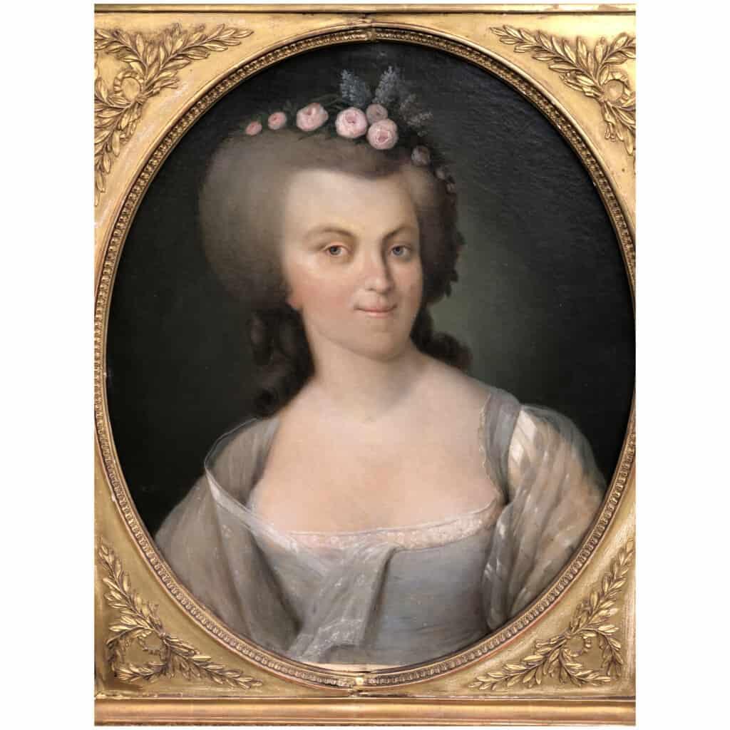Armand-jean Pallière (1784-1862) – Portrait De Femme 4