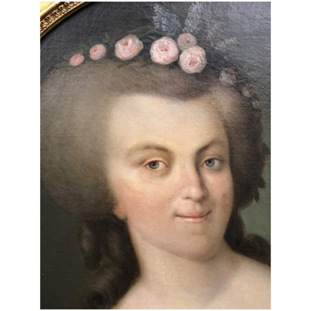 Armand-jean Pallière (1784-1862) – Portrait De Femme 6