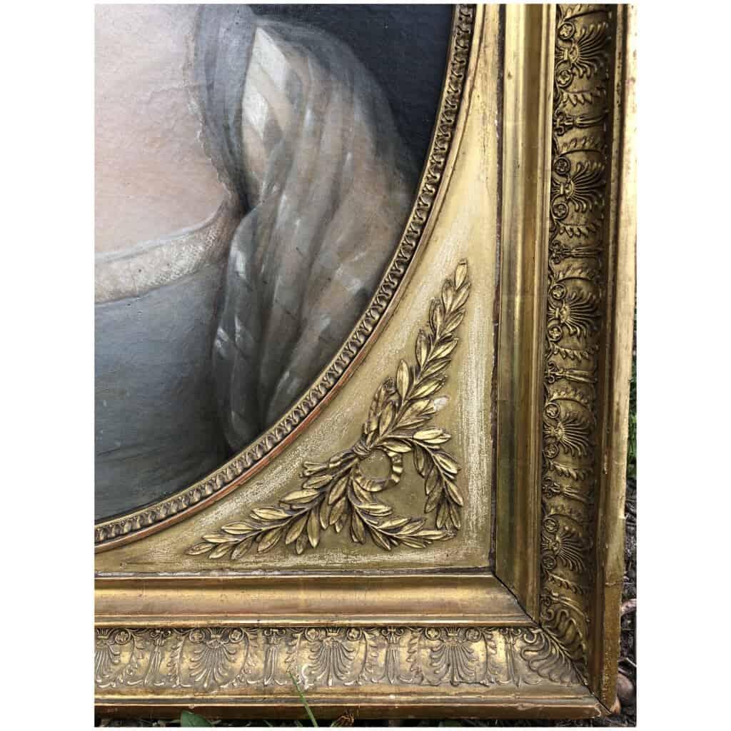 Armand-jean Pallière (1784-1862) – Portrait De Femme 7