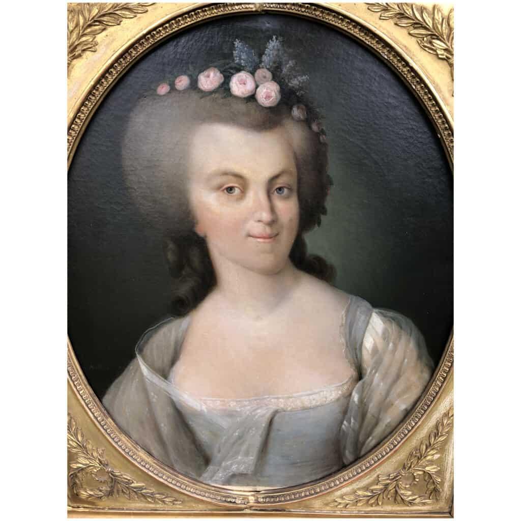 Armand-jean Pallière (1784-1862) – Portrait De Femme 10
