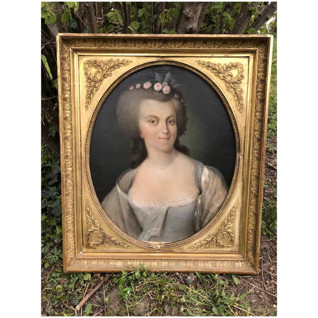 Armand-jean Pallière (1784-1862) – Portrait De Femme 11