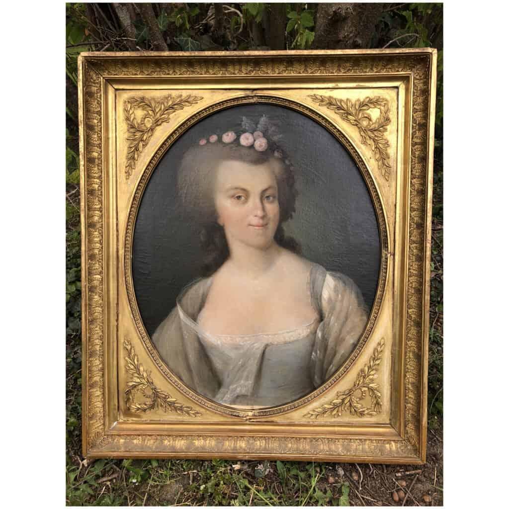 Armand-jean Pallière (1784-1862) – Portrait De Femme 15