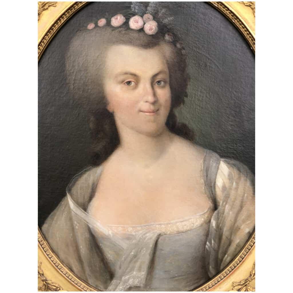 Armand-jean Pallière (1784-1862) – Portrait De Femme 16