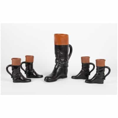 Riding boots by Pol Chambost (1906-1983)