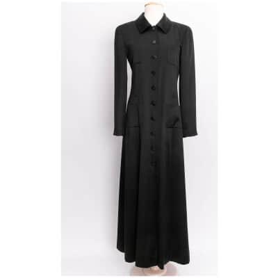 Robe / manteau en soie Chanel