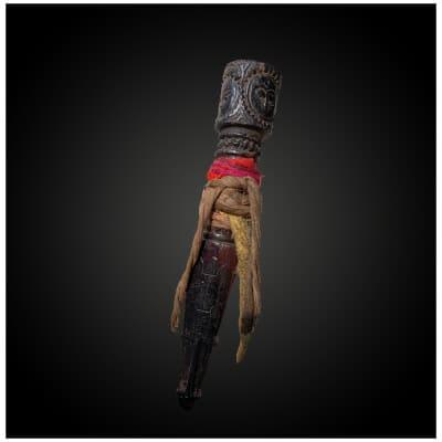 DAGUE rituelle appelée. Phurbu Tibet Fin du XIXème