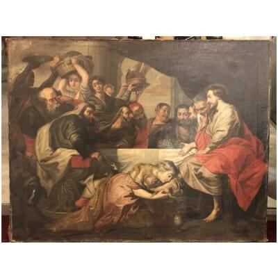 école Flamande XVIIème Suiveur De Pierre Paul Rubens