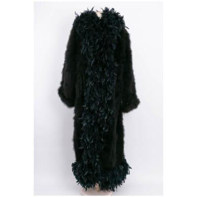 Manteau de plumes Chantal Thomass Automne 1984