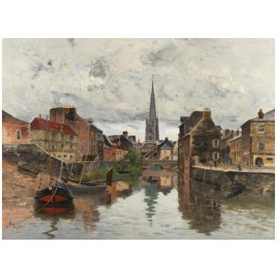 Frank Myers BOGGS (1855 –1926) Peintre et graveur français émigré des États-Unis