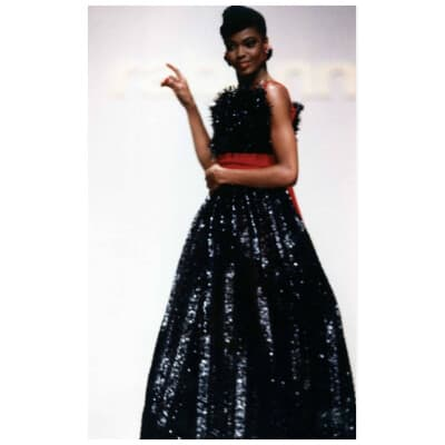 Robe Paco Rabanne Haute Couture Automne 1988