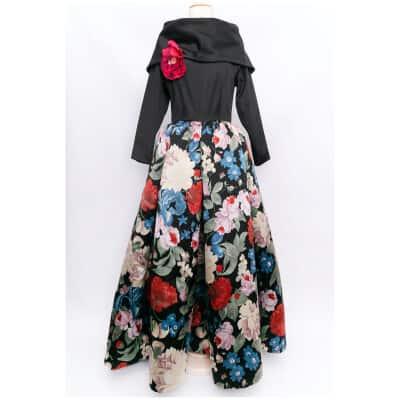 Robe en soie Nina Ricci Haute Couture