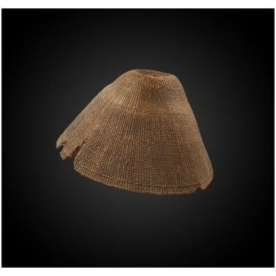 CHAPEAU ou COIFFE Culture Tlingit, Colombie britannique, Canada Fin du XIXème – début du XXème siècle