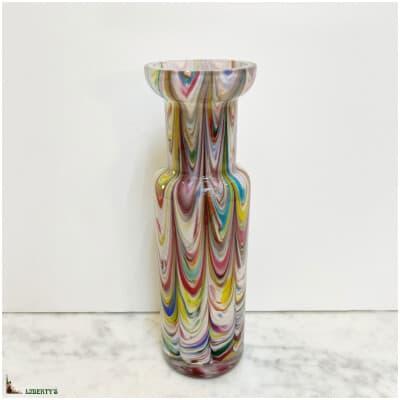Vase cristal, haut. 20.5 cm (Fin XIXe)
