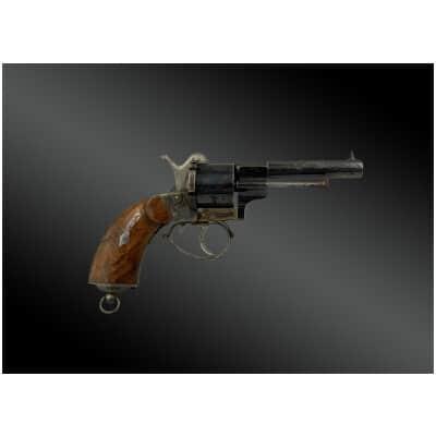 Revolver Modèle baby 1858, triple action de Felix ESCOFFIER