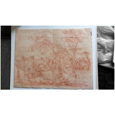 dessin XVIIIème