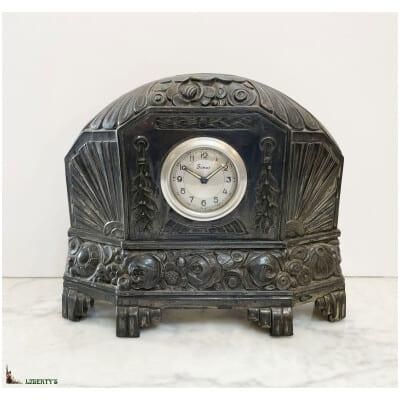 Pendulette Art-Deco régule Scout, larg. 23 cm, Deb XXe