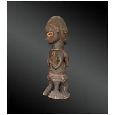 STATUETTE janus Culture Suku, République Démocratique du Congo Première moitié du XXème siècle