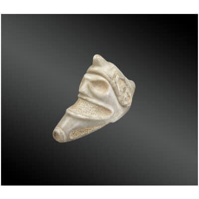 Trigonolite représentant la divinité ZEMI