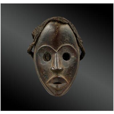 MASQUE de COURSE « Gunye Ge » Culture Dan, Nord de la Côte d'Ivoire Première moitié du XXème siècle
