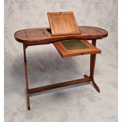 Table Écritoire Style Directoire – Merisier – 19ème