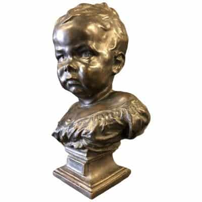 Jean Batiste Carpeaux – Bronze – Enfant Boudeur