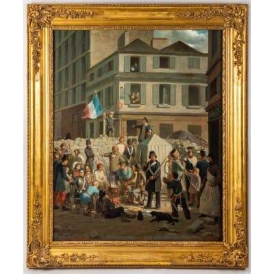Richard Edmond Flatters 1822-1876. La Révolution Française 1848.